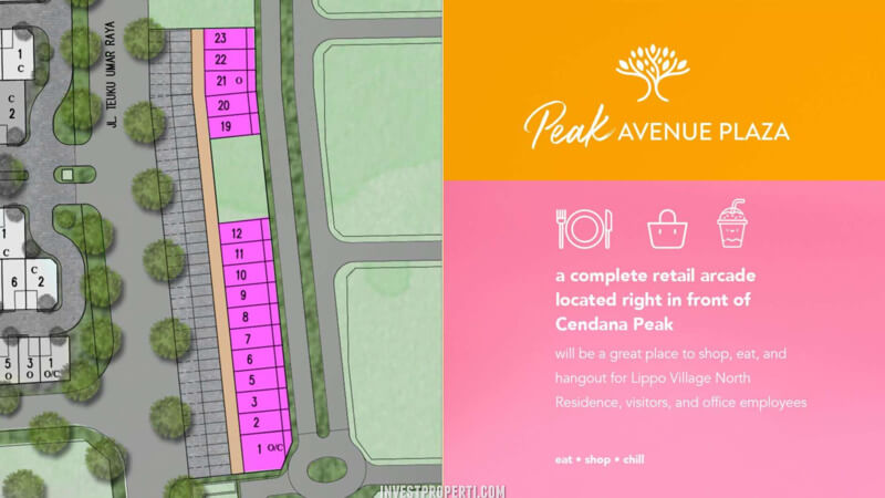 Cendana Peak Avenue Plaza Siteplan