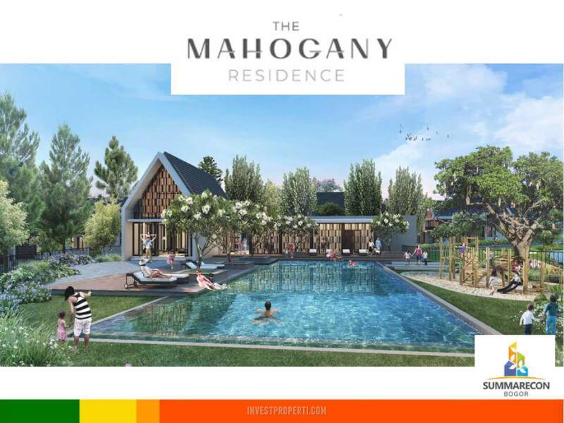 Cluster Mahogany Residence Summarecon Bogor Club House