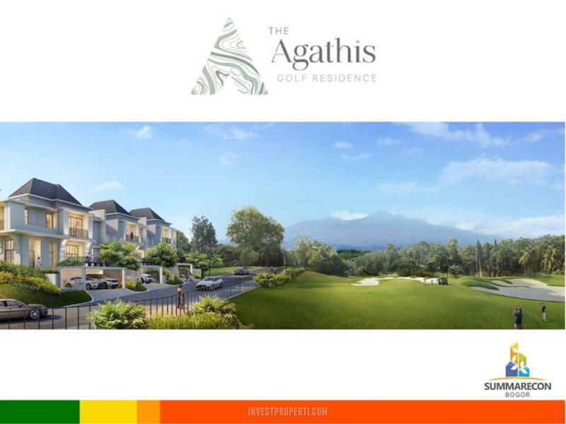 Cluster Agathis Golf Residence view Golf Course