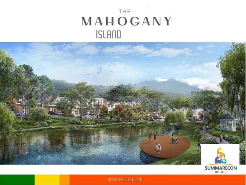 Danau Cluster Mahogany Island Summarecon Bogor