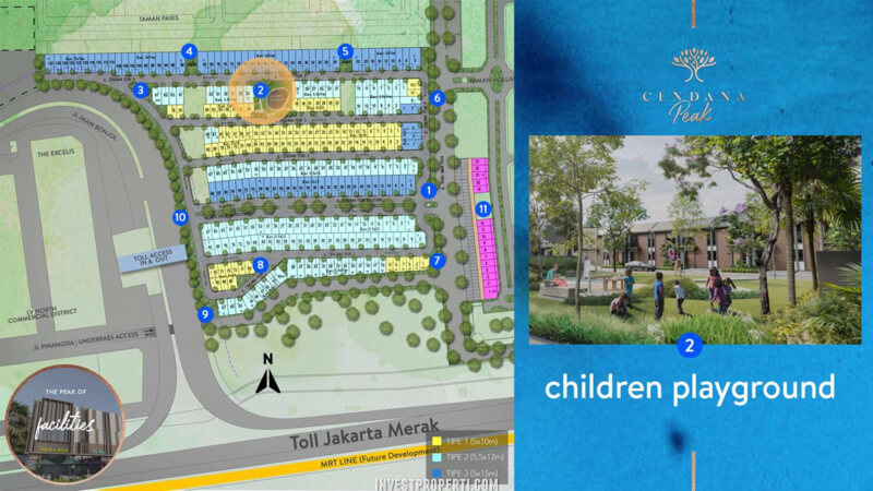 Fasilitas Cendana Peak Avenue Plaza - Children Playground