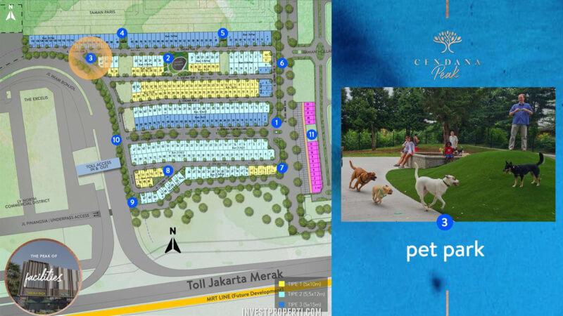 Fasilitas Cendana Peak Avenue Plaza - Pet Park