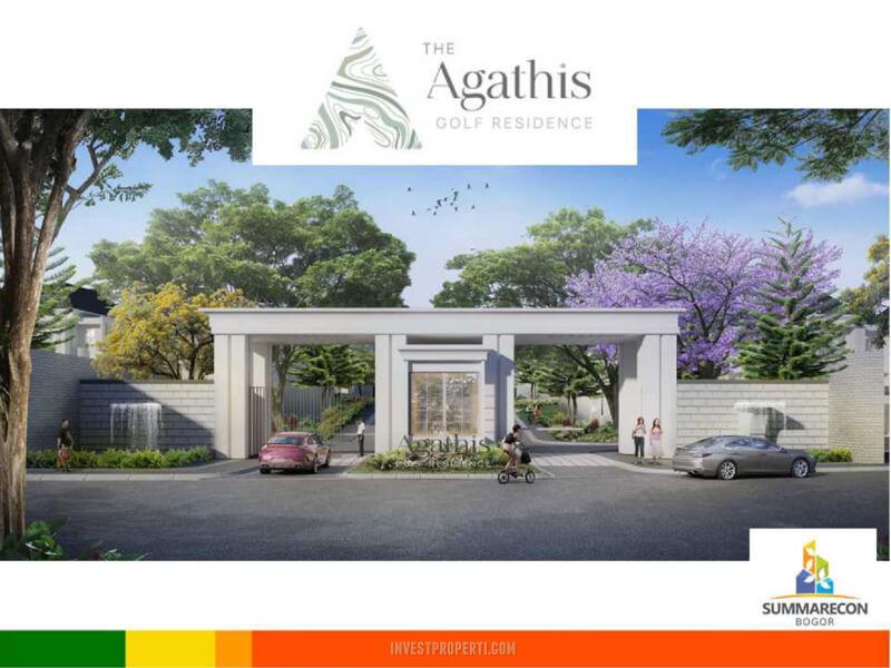 Gate Cluster Agathis Golf Residence Summarecon Bogor