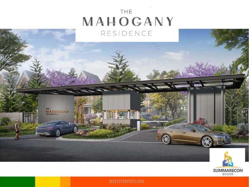 Gate Cluster Mahogany Residence Summarecon Bogor
