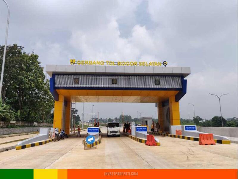 Pintu tol Bogor Selatan