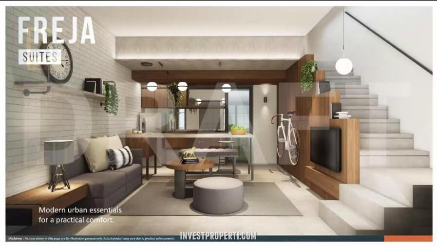 Interior Rumah Freja Suites BSD - Living Room