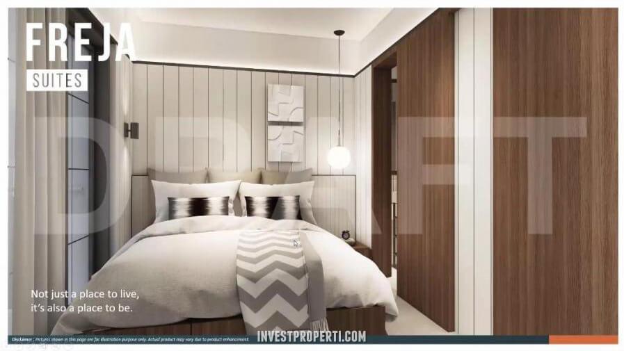 Interior Rumah Freja Suites BSD - Master Bedroom