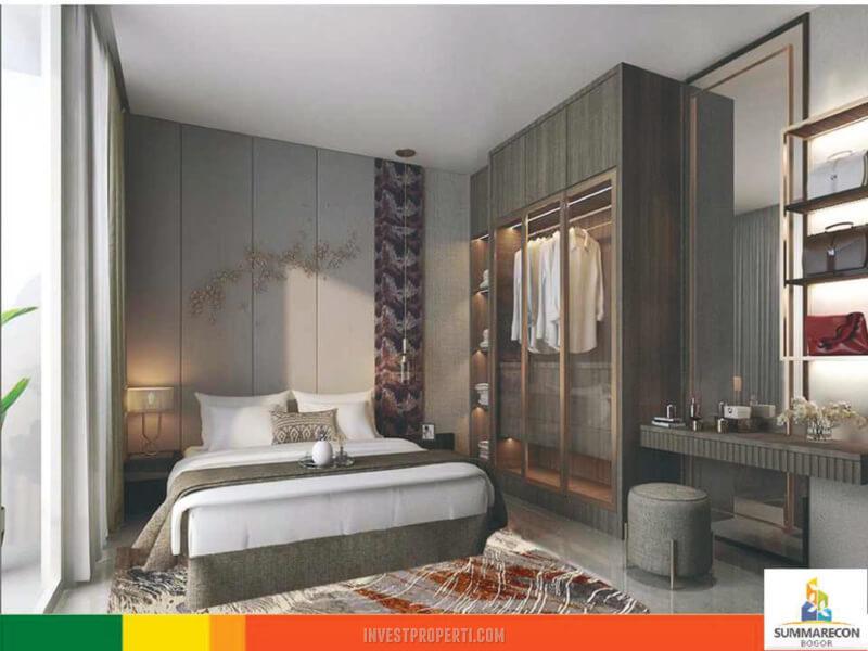 Interior Rumah Mahogany Residence Summarecon Bogor