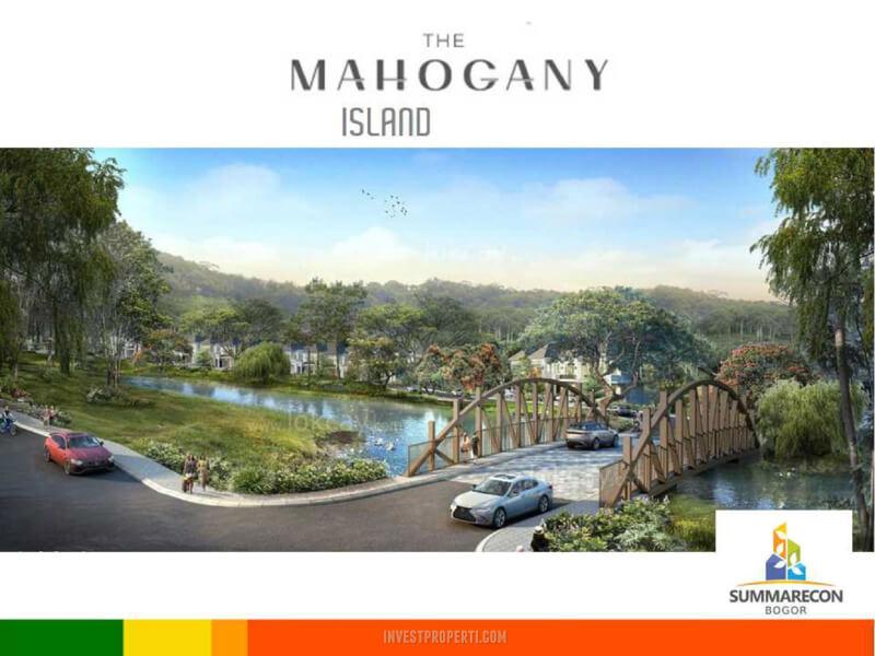Jembatan Cluster Mahagony Island Summarecon Bogor