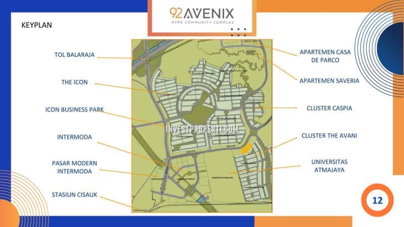 Keyplan 92 Avenix BSD