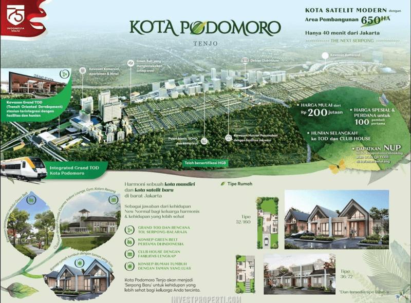 Kota Podomoro Tenjo