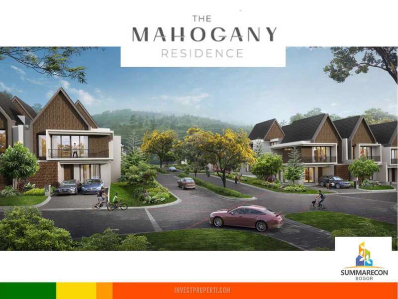 Lingkungan Cluster Mahagony Residence Summarecon Bogor