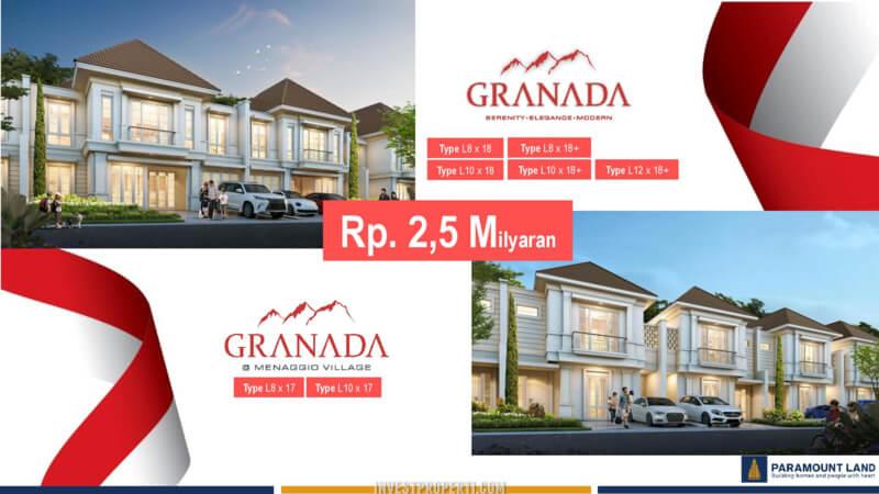 Promo Merdeka 2020 Rumah Granada Menaggio Village