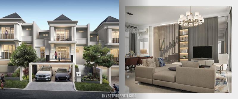 Rumah Agathis Golf Residence Summarecon Bogor TIpe A