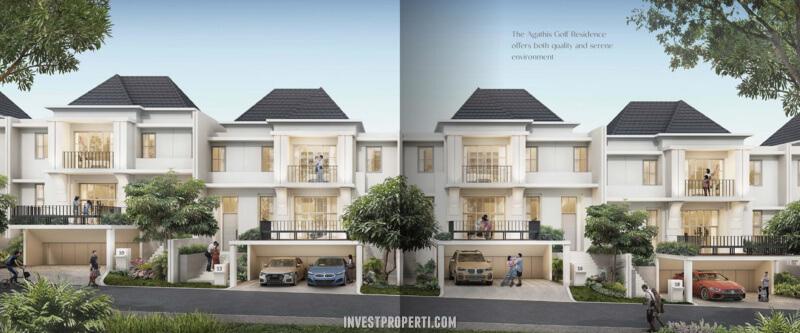 Rumah Agathis Golf Residence Summarecon Bogor