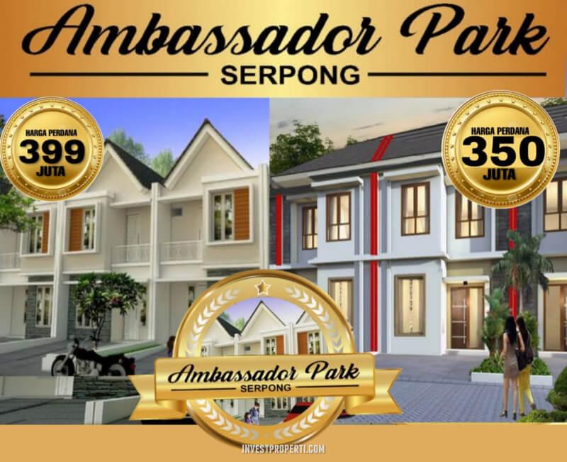 Rumah Ambassador Park Serpong