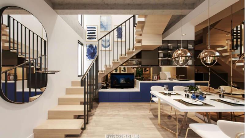 Interior Rumah Cendana Peak Tipe Garden Terrace - Living Room
