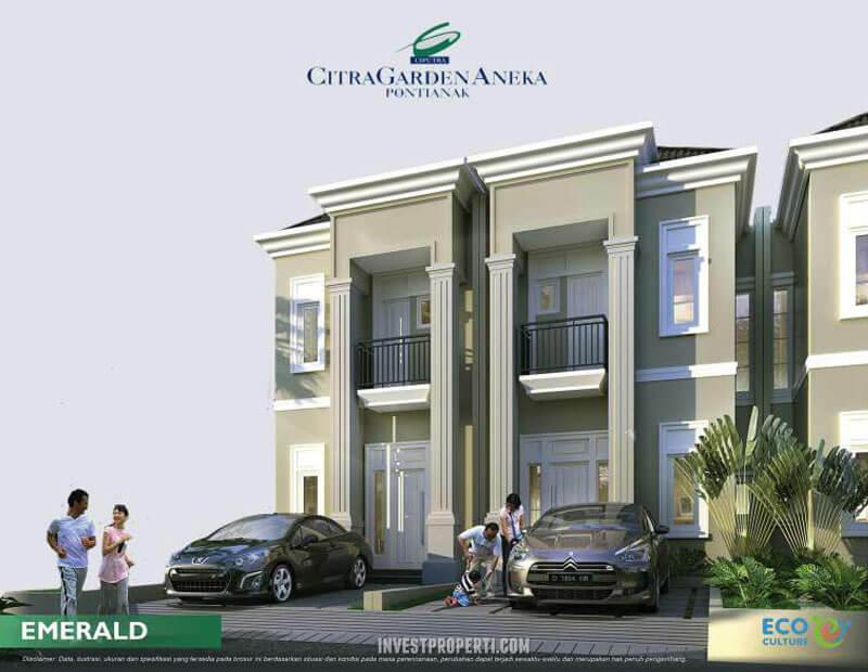 Rumah CitraGarden Aneka Tipe Emerald