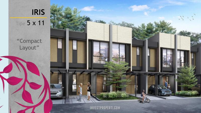 Rumah Magenta Residence Summarecon Bekasi Tipe Iris