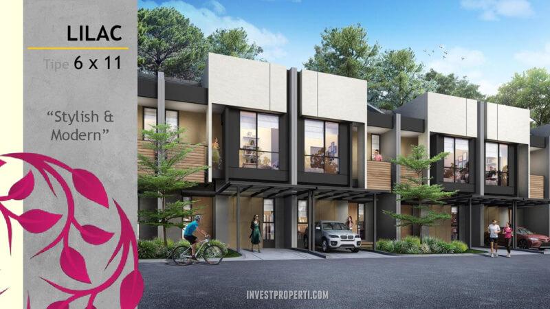 Rumah Magenta Residence Summarecon Bekasi Tipe Lilac