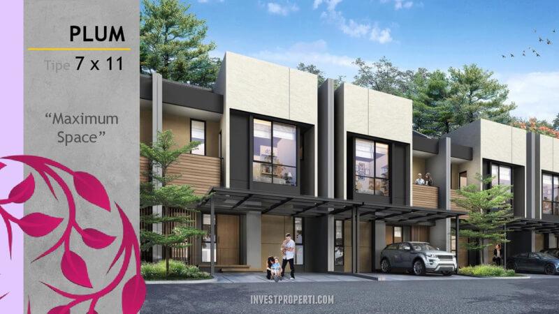 Rumah Magenta Residence Summarecon Bekasi Tipe Plum