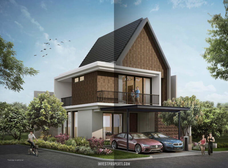 Rumah Mahagony Residence Tipe G Hoek