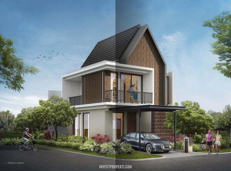 Rumah Mahagony Residence Tipe M Hoek