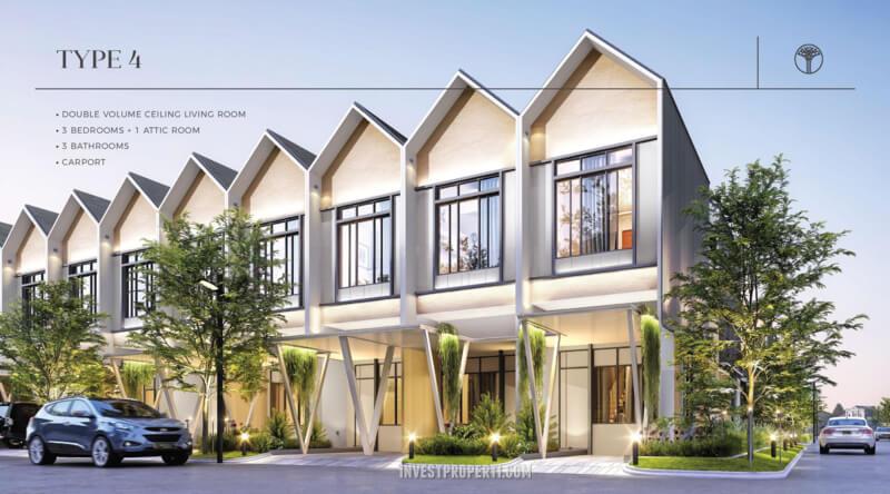 Rumah Sentosa Park Tangerang Tipe 4
