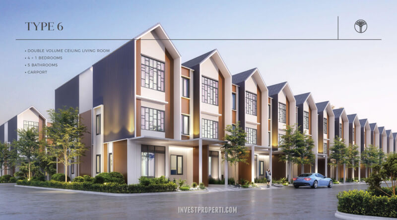 Rumah Sentosa Park Tangerang Tipe 6