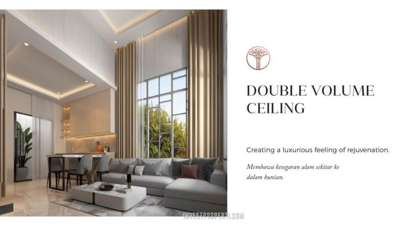 Rumah Sentosa Park Tangerang Double Ceiling