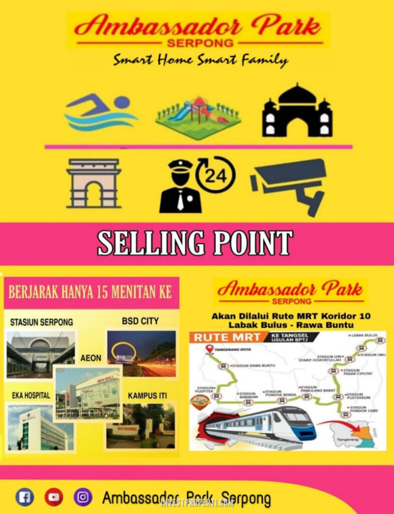 Selling Point Ambassador Park Serpong