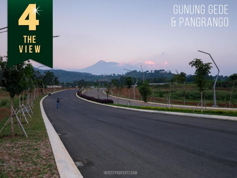 View Gunung Gede - Summarecon Bogor