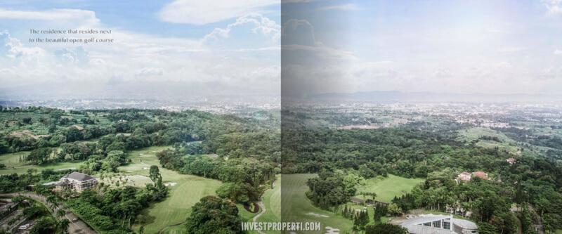 View Pemandangan Rumah Agathis Golf Residence Summarecon Bogor