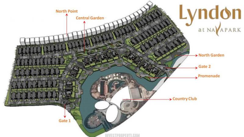 Posisi Cluster Lyndon at Nava Park BSD