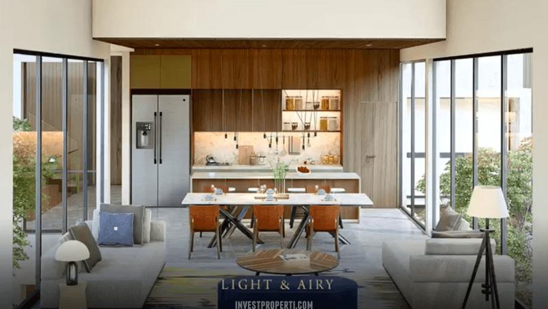 Interior Rumah Lyndon Navapark BSD Kitchen