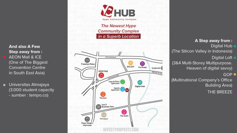 Lokasi YC Hub BSD