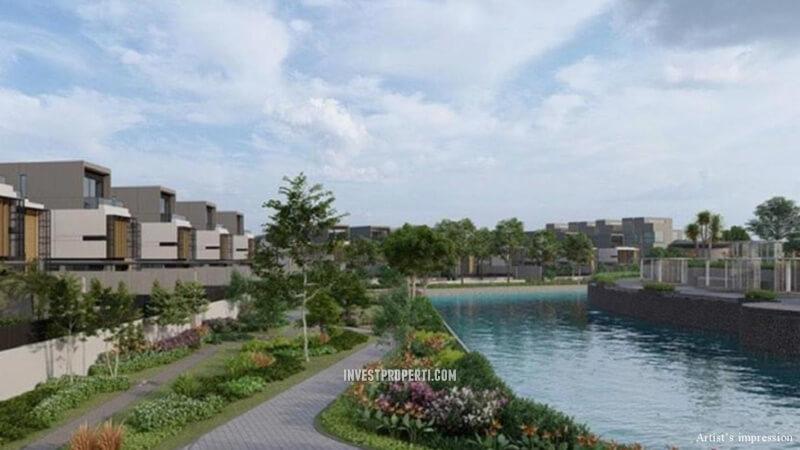 Lyndon Navapark BSD Lake Promenade