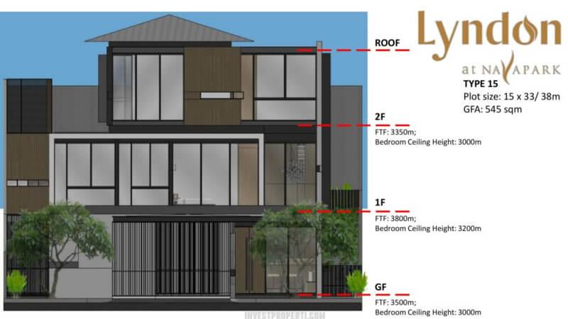 Lantai Rumah Lyndon at Nava Park BSD Tipe 15
