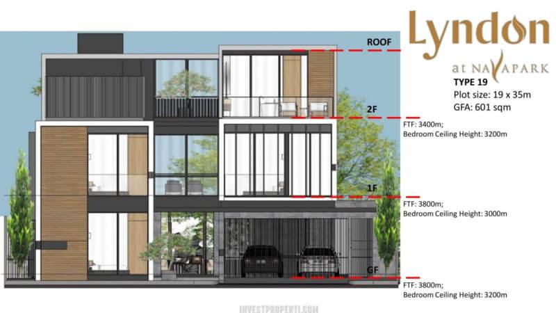 Lantai Rumah Lyndon at Nava Park BSD Tipe 19
