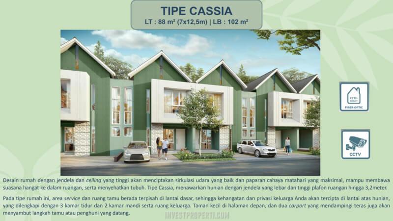 Rumah Cassia Cluster Catriona Suvarna Sutera