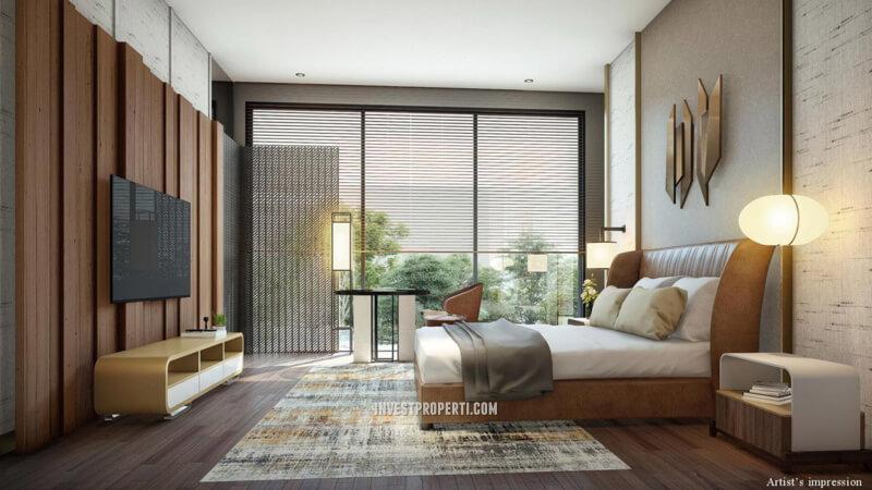 Master Bedroom Rumah Lyndon Navapark Tipe 15