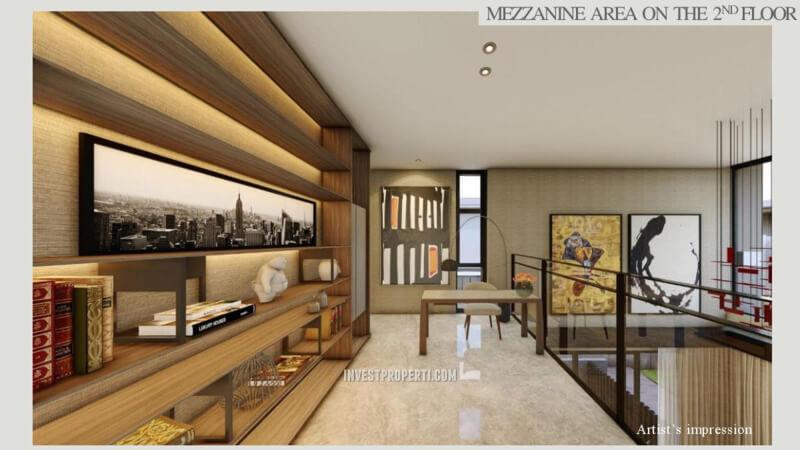 Mezzanine Floor Rumah Lyndon Navapark Tipe 15
