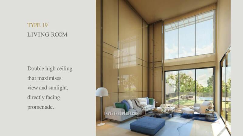 Rumah Lyndon Navapark Tipe 19 Living Room
