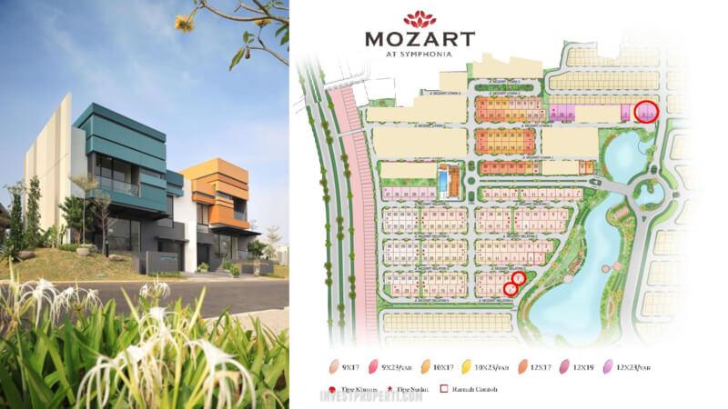 Siteplan Cluster Mozart Symphonia Tahap 2