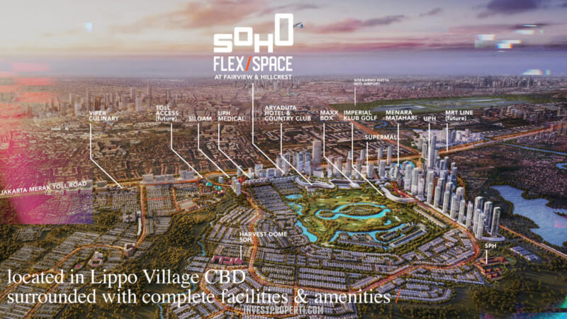 SOHO Flex Space Fairview Lippo Village