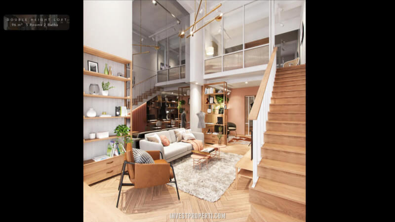 SOHO Flex Space Fairview Millenium Lippo Village Chic Scandi Interior