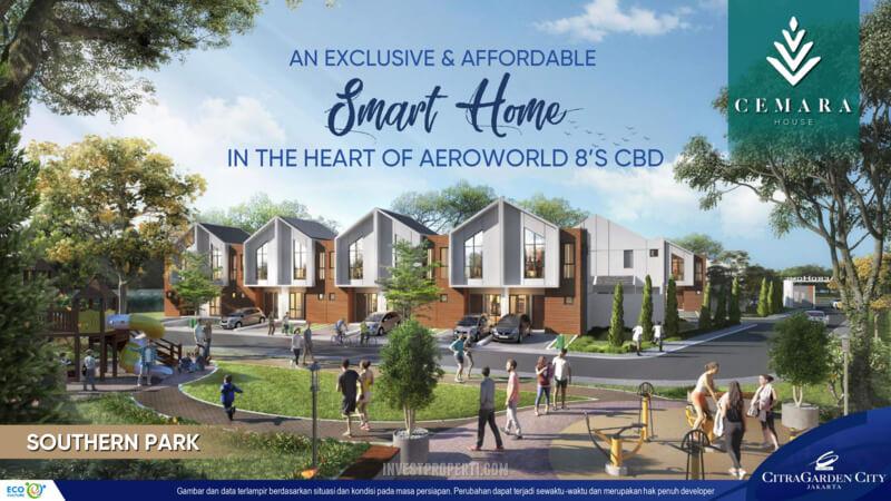 Cemara House Cluster AeroHome CitraGarden City