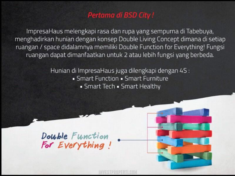 ImpresaHaus BSD Double Living Concept