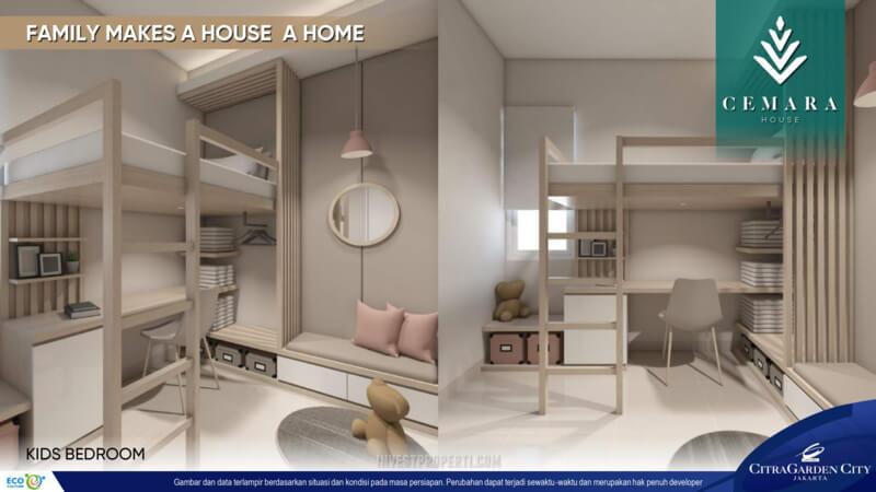 Interior Rumah AeroHome Cemara House - Kids room