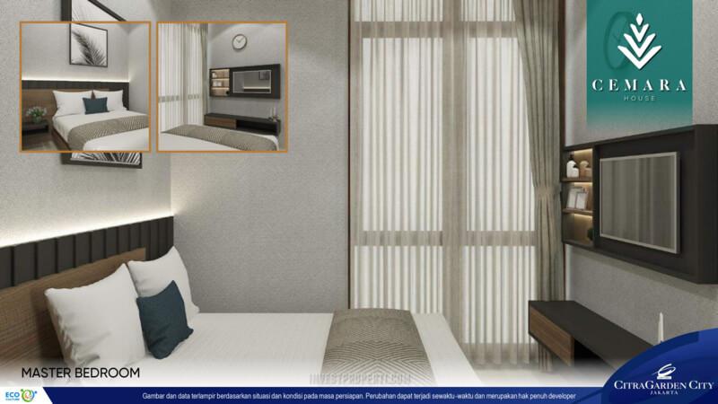 Interior Rumah AeroHome Cemara House - Master Room